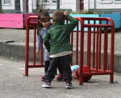VLW kinderen bij doel